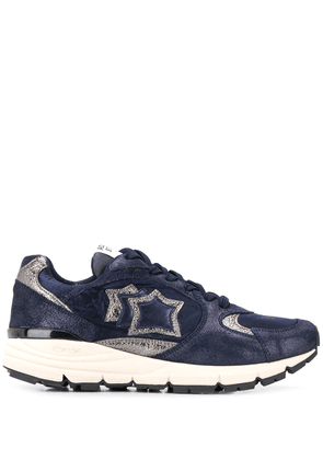 Atlantic Stars Mira metallic panel sneakers - Blue