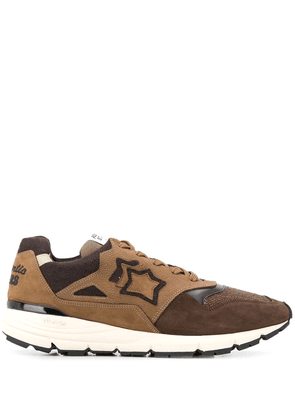 Atlantic Stars Polaris contrasting panel sneakers - Brown
