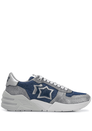 Atlantic Stars Venus contrasting panel sneakers - Grey