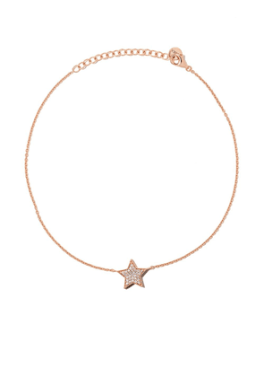 Alinka 18kt rose gold STASIA diamond anklet
