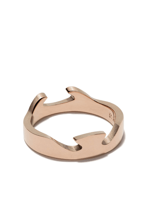 Georg Jensen 18kt rose gold Fushion End ring