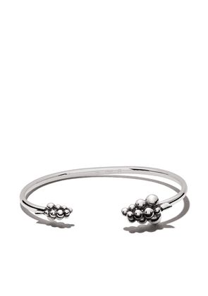 Georg Jensen Moonlight Grapes cuff - SILVER