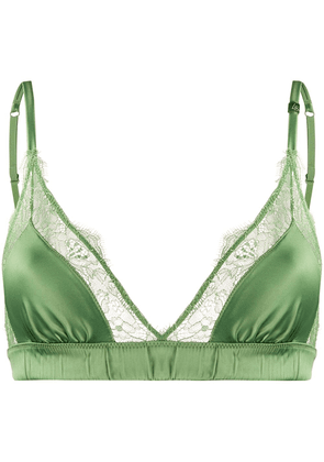 Love Stories Love Lace Bralette - Green