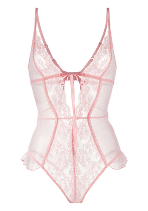 Myla Elm Row floral lace body - PINK