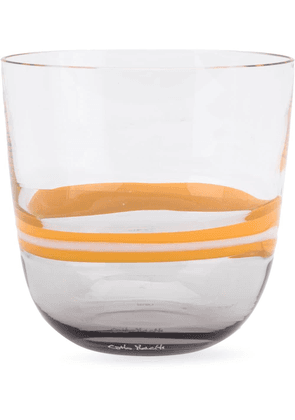 Carlo Moretti striped glass - Yellow