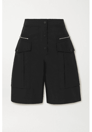 3.1 Phillip Lim - Cotton-blend Poplin Cargo Shorts - Black