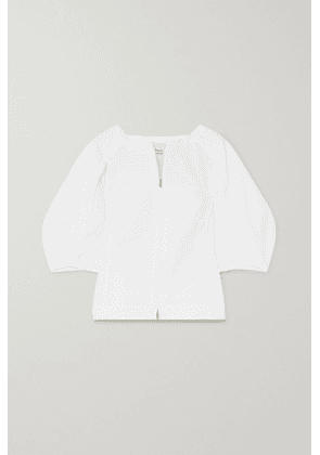 3.1 Phillip Lim - Paneled Cotton-blend Top - White