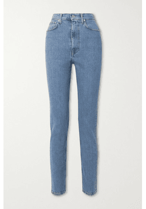Helmut Lang - Femme Hi Spikes High-rise Straight-leg Jeans - Mid denim