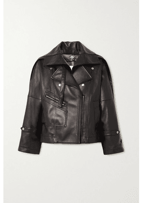 3.1 Phillip Lim - Belted Leather Biker Jacket - Black