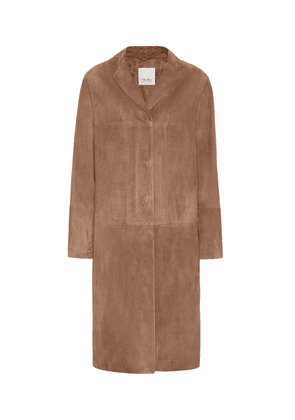 Radio suede coat