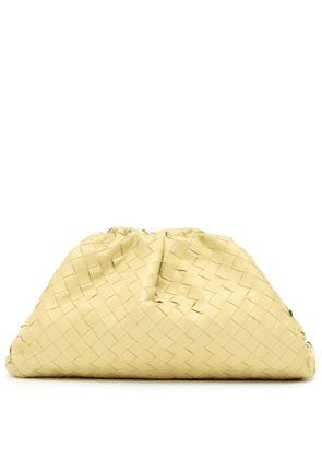 Exclusive to Mytheresa – The Pouch intrecciato leather clutch