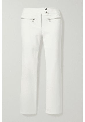 Veronica Beard - Metro Cropped Stretch-twill Flared Pants - White