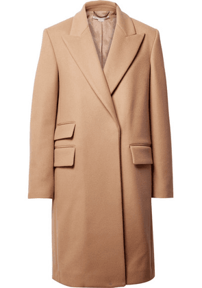 Stella McCartney - Melton Wool-blend Coat - Camel