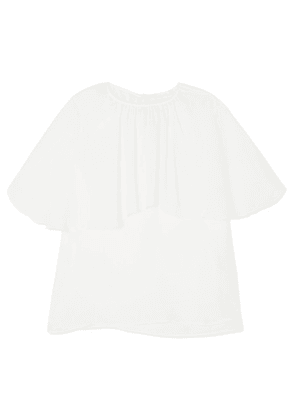 See By Chloé - Layered Chiffon Top - White