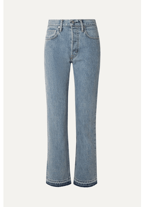 Helmut Lang - Cropped High-rise Straight-leg Jeans - Indigo
