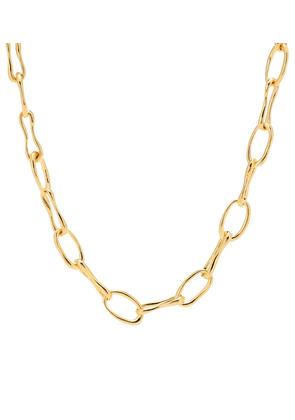 Roman Chain 18kt gold-plated necklace