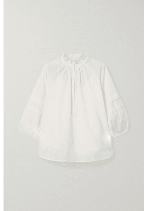 APIECE APART - Laguna Organic Cotton Blouse - Cream