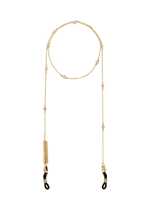 Frame Chain gold-plated Shine Bright crystal embellished chain
