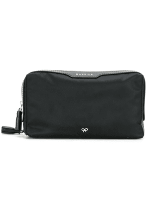 Anya Hindmarch small make up pouch - Black