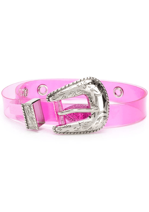 B-Low The Belt sheer belt - PINK