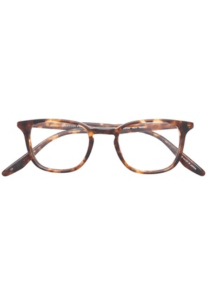 Barton Perreira Woody round frame glasses - Brown