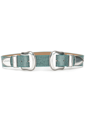 B-Low The Belt double buckle belt - Blue
