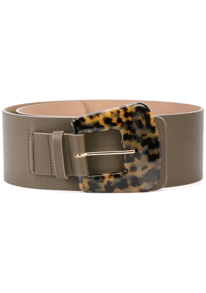 B-Low The Belt tortoise shell buckle belt - Green