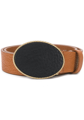 Anderson's oval buckle belt - Brown