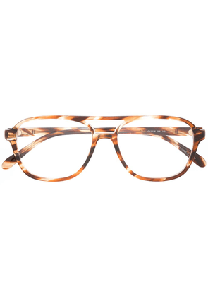 Givenchy Eyewear aviator-style glasses - Brown