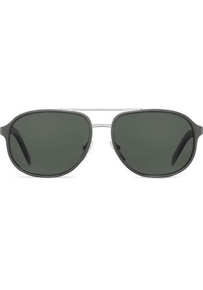 Prada aviator-frame sunglasses - Black
