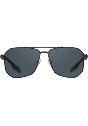 Prada Linea Rossa aviator sunglasses - Black