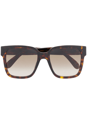 Givenchy Eyewear square-frame tortoiseshell-effect sunglasses - Brown