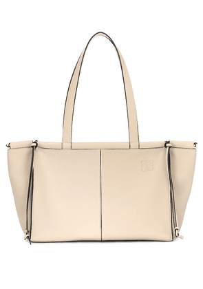 Cushion Small leather tote