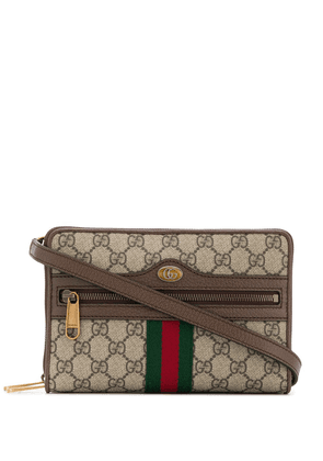 Gucci Ophidia GG small shoulder bag - NEUTRALS