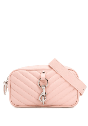 Rebecca Minkoff quilted-effect crossbody bag - PINK