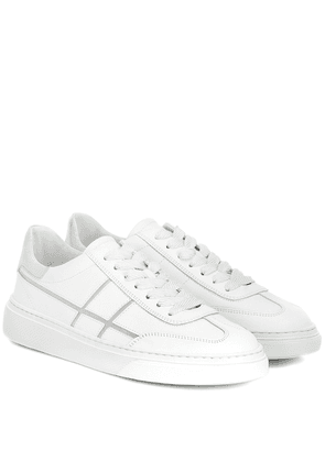 H365 Bowling leather sneakers