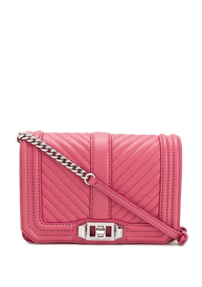 Rebecca Minkoff small quilted crossbody bag - PINK