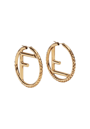 Fendi F is Fendi large earrings - GOLD