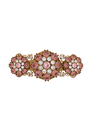 Dolce & Gabbana crystal-embellished hairpin - GOLD