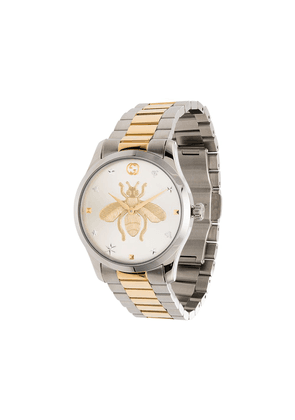 Gucci G-Timeless gold bee watch - SILVER