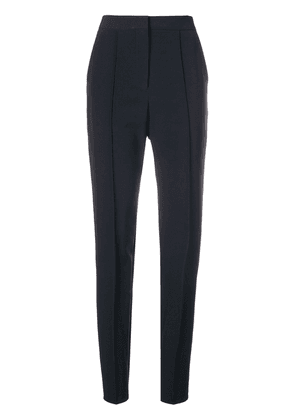 Cyclas slim-fit pleated trousers - Blue