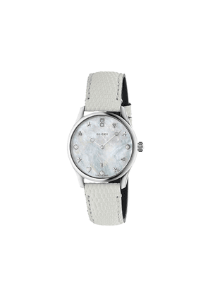 Gucci G-Timeless watch, 29mm - White
