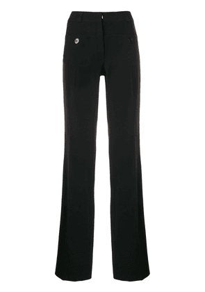 Carven side striped trousers - Black