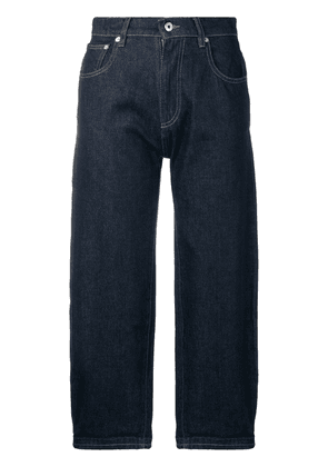 Carven high cropped jeans - Blue