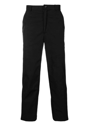 Andrea Crews cropped tapered trousers - Black