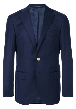 Fashion Clinic Timeless single breasted blazer - Blue