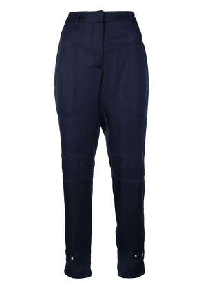 Barbara Bui tailored fitted trousers - Blue