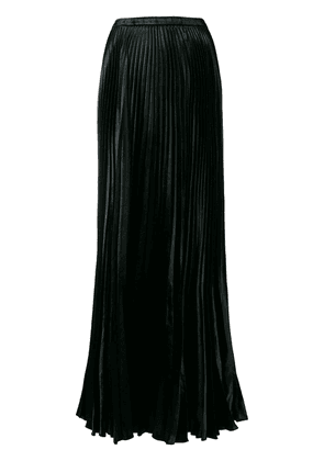 Saint Laurent pleated long skirt - Black