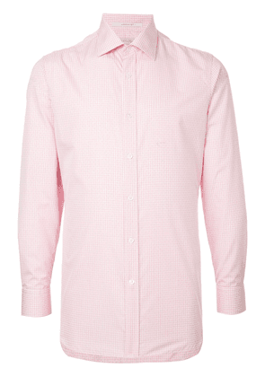 Gieves & Hawkes classic fitted shirt - Pink