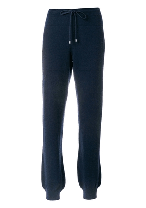 Barrie Romantic Timeless cashmere jogging trousers - Blue